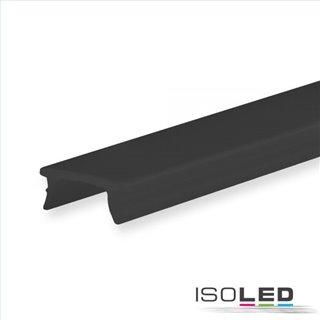 Abdeckung COVER34 schwarz/matt 600cm für Profil SURF8