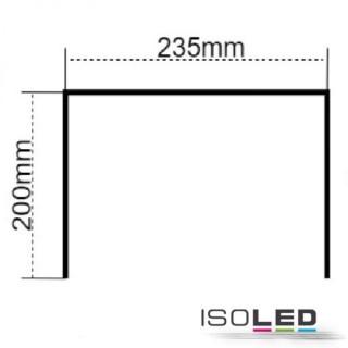 Montagebügel für LED Hallenleuchte MS 250W