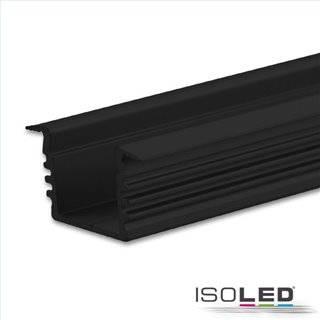 LED Einbauprofil DIVE12 Aluminium schwarz, 200cm