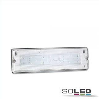 LED Notlicht/Fluchtwegleuchte UNI7 Autotest 7W, IP65, X0AEFG180