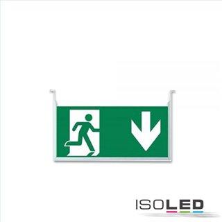 Vertikales Schild für LED Notlicht/Fluchtwegleuchte UNI4