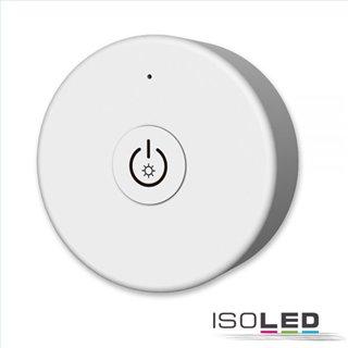 Sys-Pro SingleColor 1 Zonen Fernbedienung rund, weiß