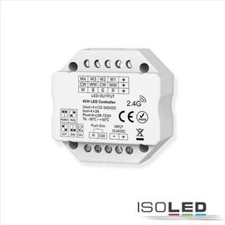 Sys-Pro Push/Funk Mesh PWM-Controller, 1-4 Kanal, 12-24V DC 4x3A
