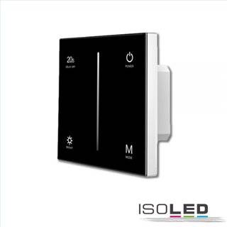 Sys-Pro 1 Zone Einbau-Touch-Funk-Bedienung 1x0-10V Output, schwarz, 85-265V