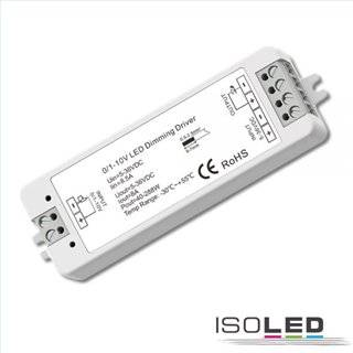 Sys-Pro 0/1-10V Input PWM-Controller, 1 Kanal, 5-36V DC 8A, 48V DC 4A
