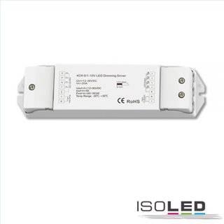 Sys-Pro 1xPush/4x1-10V Input PWM-Controller, 4 Kanal, 12-36V DC 4x5A