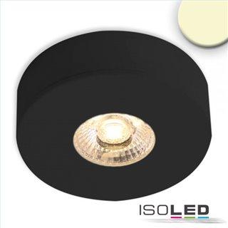 LED Ein- und Unterbauleuchte MiniAMP schwarz, 3W, 24V DC, warmweiß, dimmbar