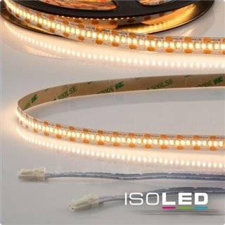 LED CRI925 MiniAMP Flexband, 12V, 6W, 2500K, 500cm, beidseitig 30cm Kabel mit male-Stecker