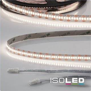 LED CRI940 MiniAMP Flexband, 12V, 6W, 4000K, 250cm, beidseitig 30cm Kabel mit male-Stecker