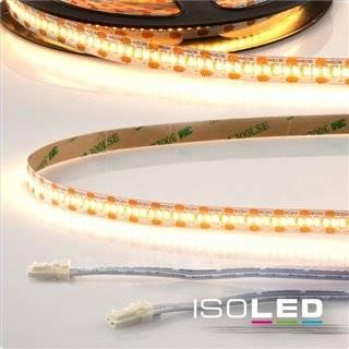 LED CRI930 MiniAMP Flexband, 12V, 12W, 3000K, 120cm, beidseitig 30cm Kabel mit male-Stecker