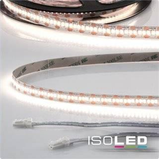 LED CRI940 MiniAMP Flexband, 12V, 12W, 4000K, 250cm, beidseitig 30cm Kabel mit male-Stecker