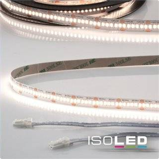 LED CRI940 MiniAMP Flexband, 24V, 12W, 4000K, 120cm, beidseitig 30cm Kabel mit male-Stecker