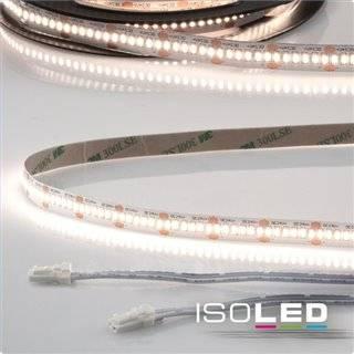 LED CRI940 MiniAMP Flexband, 24V, 12W, 4000K, 500cm, beidseitig 30cm Kabel mit male-Stecker