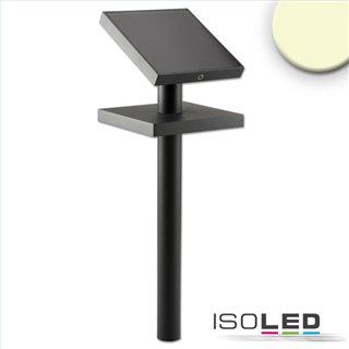 LED SOLAR Weg- und Gartenleuchte mit Helligkeitssensor, 1.3W, IP54, warmweiß
