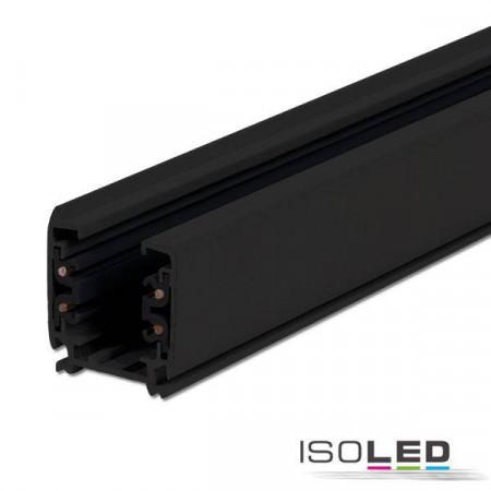 3-Phasen S1 Stromschiene, 3m, schwarz