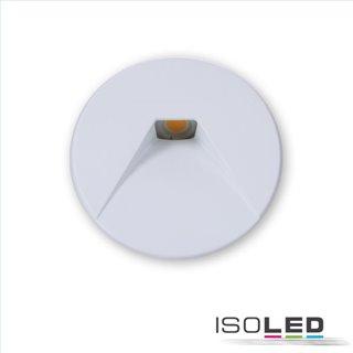 Cover Aluminium rund 2 weiß für Wandeinbauleuchte Sys-Wall68