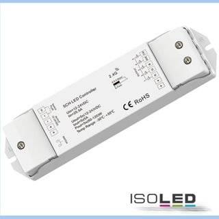 Sys-Pro RGB+CCT Push/Funk Mesh PWM-Controller, 1-5 Kanal, 12-24V DC 5x5A