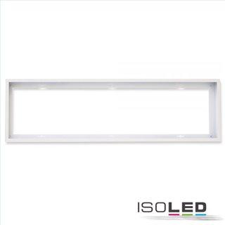 Aufbaurahmen weiß RAL 9016 für LED Panel 300x1200, Schnellmontage