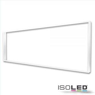 Aufbaurahmen weiß RAL 9016 für LED Panel 300x1200