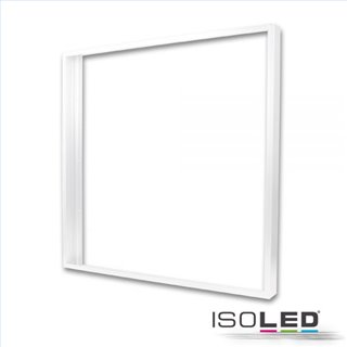 Aufbaurahmen weiß RAL 9016 für LED Panel 600x600