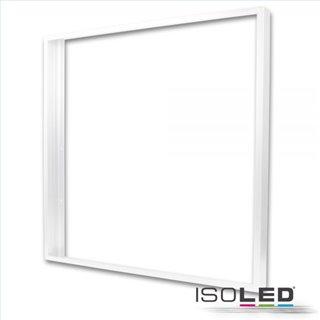 Aufbaurahmen weiß RAL 9016 für LED Panel 625x625