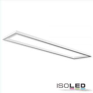 Einbaurahmen weiß RAL 9016 für LED Panel 300x1200