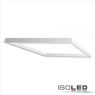 Einbaurahmen weiß RAL 9016 für LED Panel 600x600