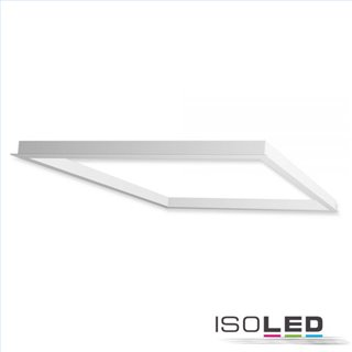 Einbaurahmen weiß RAL 9016 für LED Panel 625x625