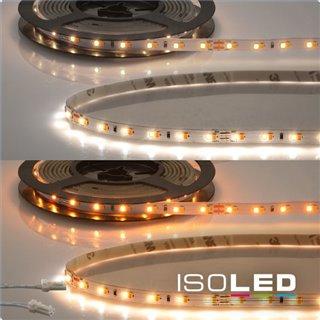 LED CRI919/940 MiniAMP Flexband, 24V, 10W, weißdynamisch, 500cm, beidseitiges Kabel mit male-Stecker