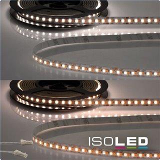 LED CRI919/940 MiniAMP Flexband, 12V, 15W, weißdynamisch, 120cm, beidseitiges Kabel mit male-Stecker
