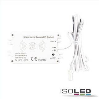 Sys-Pro Funk HF-Bewegungsmelder MiniAMP, 9-24V