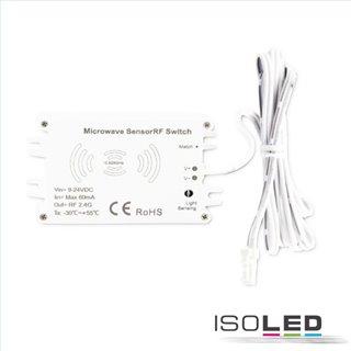 Sys-Pro Funk HF-Bewegungsmelder MiniAMP mit invertierter Funktion für UV-C, 9-24V