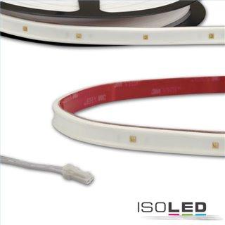 LED UV-C MiniAMP Flexband 270nm, 12V DC, 6W, IP54, 58cm, weiß, einseitig Kabel mit male-Stecker