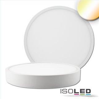 LED Deckenleuchte PRO weiß, 30W, rund, 300mm, ColorSwitch 2700K|3000K|4000K, dimmbar