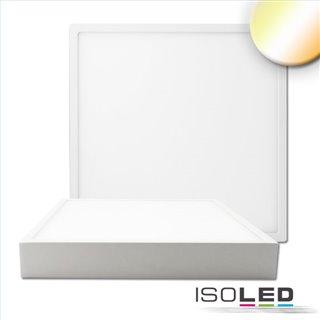 LED Deckenleuchte PRO weiß, 30W, 300x300mm, ColorSwitch 2700|3000K|4000k, dimmbar