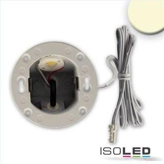 LED Wandeinbauleuchte Sys-Wall68 MiniAMP 24V, 3W, IP44, 3000K, inkl. Einputzdose