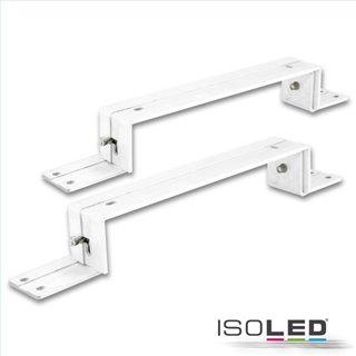 Montagebügel für LED Panel 300x1200, weiß RAL 9016