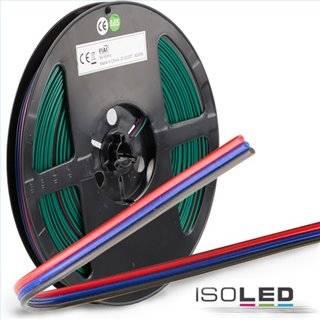 Kabel CCT 25m Rolle 3-polig 0.75mm² H03VH-H AWG18