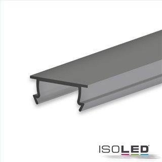 Abdeckung COVER44 schwarz/matt 200 cm für Profil SURF10