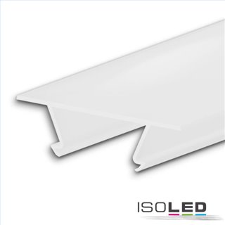 Abdeckung COVER46 weiß/matt 200 cm für Profil CORNER12 BORDERLESS