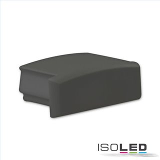 Endkappe EC75B schwarz für Profil PURE14 S, 1 STK