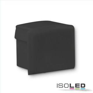 Endkappe EC81B schwarz für Profil SURF10, 1 STK