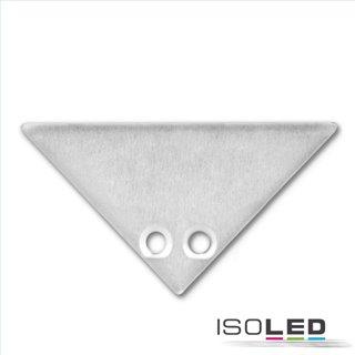 Endkappe EC84 Aluminium für Profil CORNER12, 2 STK inkl. Schrauben