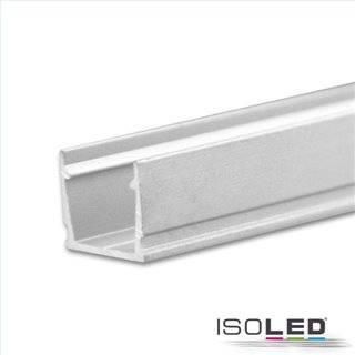 LED Aufbauprofil SURF10 Aluminium eloxiert, 200cm