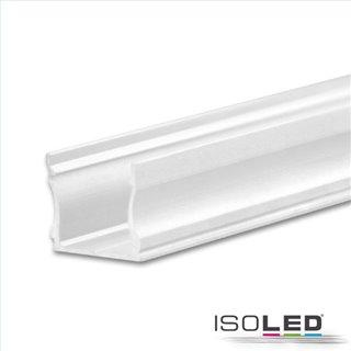 LED Aufbauprofil PURE12 S Aluminium weiß RAL9010, 200cm