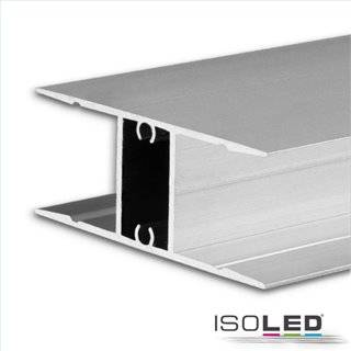 LED Aufbauleuchtenprofil HIDE DOUBLE Aluminium eloxiert, 200cm