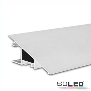 LED Aufbauleuchtenprofil HIDE TRIANGLE Aluminium weiß RAL 9003, 200cm