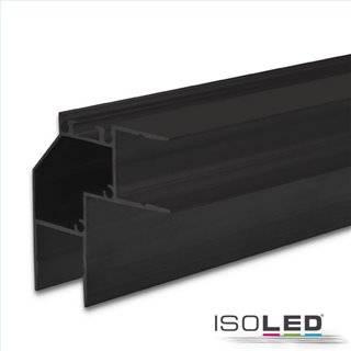 LED Eckprofil HIDE ANGLE Aluminium schwarz RAL 9005, 200cm