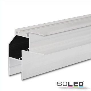 LED Eckprofil HIDE ANGLE Aluminium weiß RAL 9003, 200cm