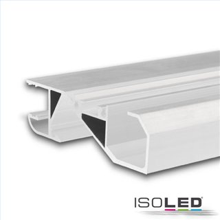LED Sockelleistenprofil HIDE BOTTOM weiß RAL 9003